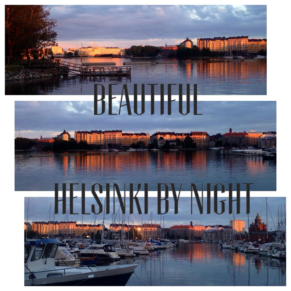 Helsinki by night, Anu Pellas