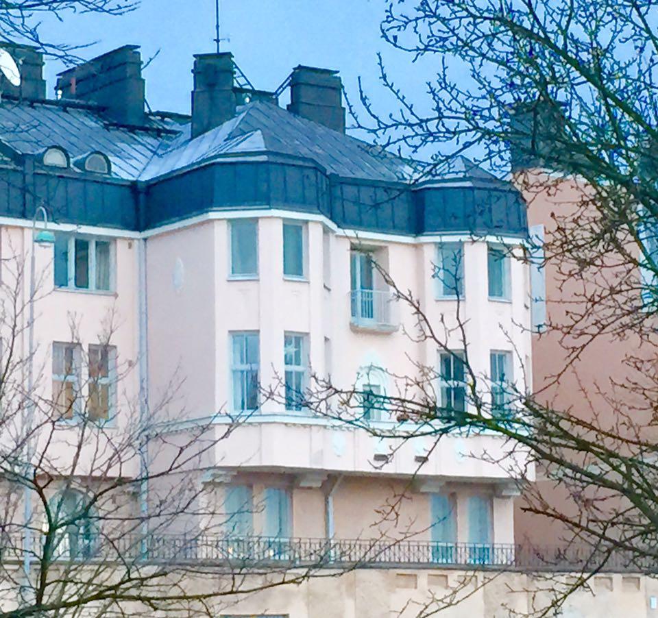 Vaaleanpunainen talo, Anu Pellas