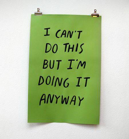 Anu Pellas, I can do this